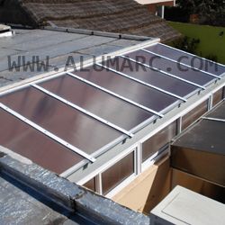 Techos para cerramientos fabrica de aberturas de aluminio - Cerramientos de aluminio para porches ...